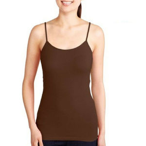 Women's OPP Fitted Cami Warm Fudge Brown Size 3XL